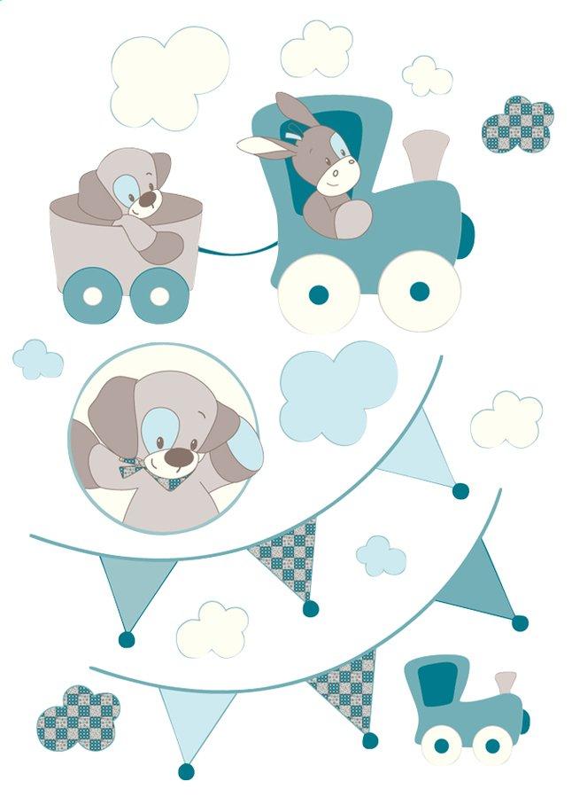 Afbeelding van Nattou Muursticker Gaston & Cyril from Dreambaby