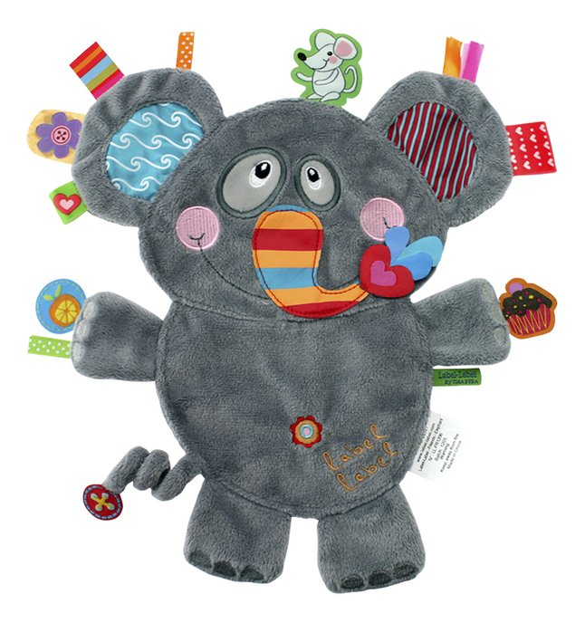Afbeelding van Label-label Doudou Friends olifant from Dreambaby