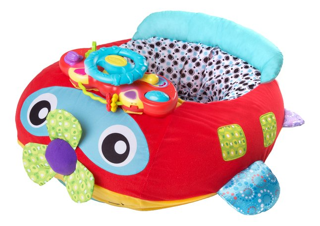 Playgro Activiteitenzitje Music and Lights Comfy Plane