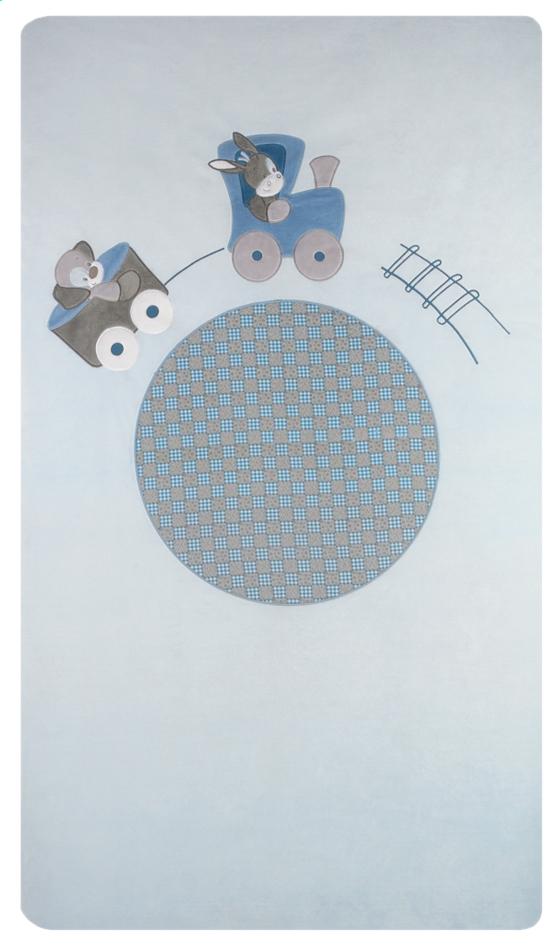Afbeelding van Nattou Dekbedovertrek voor bed Gaston & Cyril polyester/katoen B 100 x L 140 cm from Dreambaby