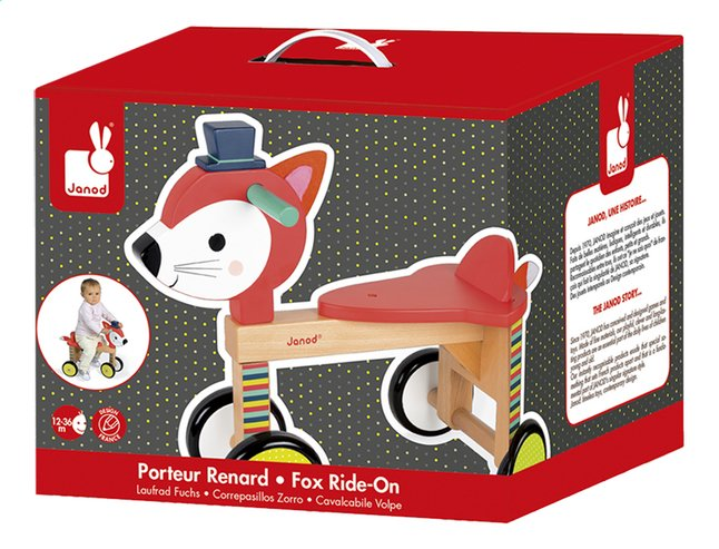 Afbeelding van Janod Loopfiets Baby Forest Fox Ride-On from Dreambaby
