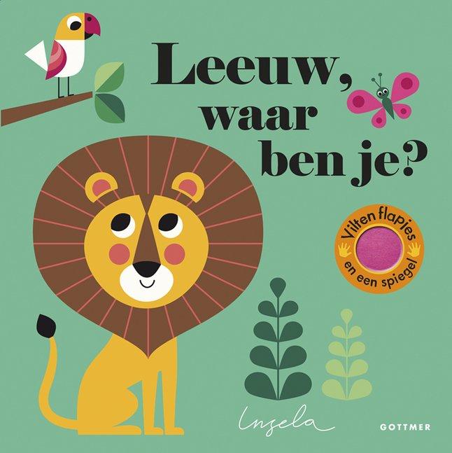 Afbeelding van Babyboek Leeuw, waar ben je? from Dreambaby