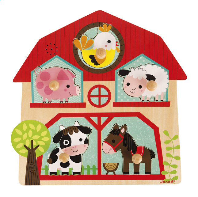 Afbeelding van Janod Puzzel The Friends of the Farm from Dreambaby