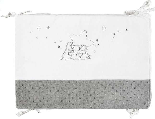 Afbeelding van Noukie's Bedomranding Poudre d'Étoiles polyester from Dreambaby