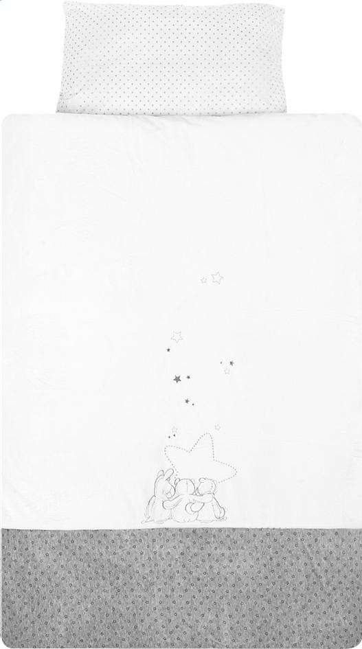 Afbeelding van Noukie's Dekbedovertrek voor bed Poudre d'Étoiles polyester from Dreambaby