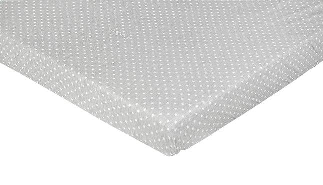 Afbeelding van Noukie's Hoeslaken voor bed Poudre d'Étoiles katoen/polyester - 2 stuks from Dreambaby