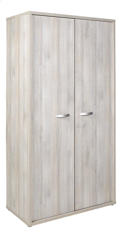 Image pour Armoire 2 portes Milo décor chêne à partir de Dreambaby