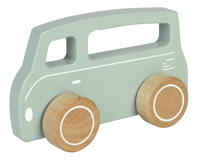 Image pour Little Dutch Bus en bois Adventure Blue à partir de Dreambaby