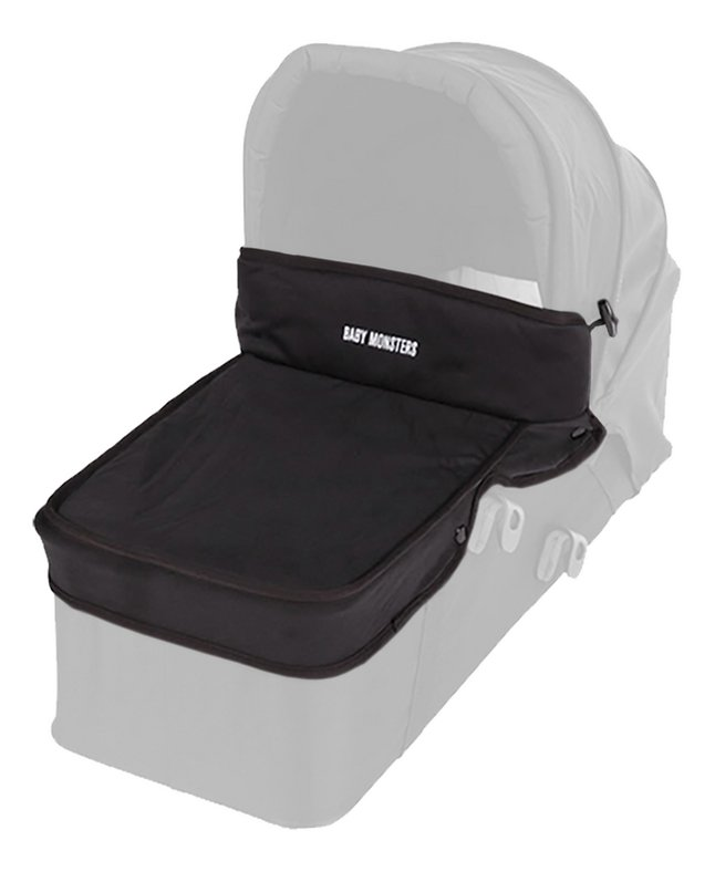 Baby Monsters Tablier pour nacelle Easy Twin 3S black