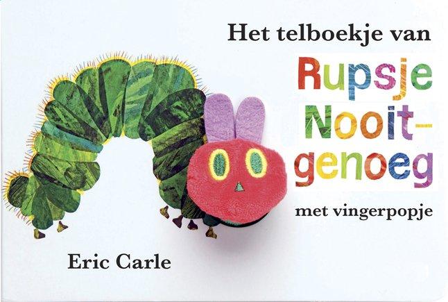 Image pour Het telboekje van Rupsje Nooitgenoeg - Eric Carle NL à partir de Dreambaby