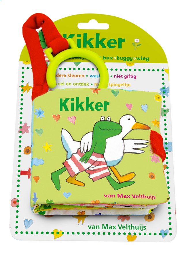 Afbeelding van Buggyboek Kikker from Dreambaby