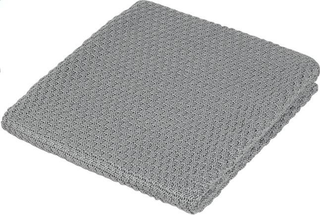 Image pour Jollein Couverture pour berceau ou parc coton/acrylique drops grey à partir de Dreambaby