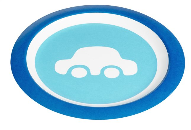 Afbeelding van Dreambee Plat bord Essentials auto from Dreambaby