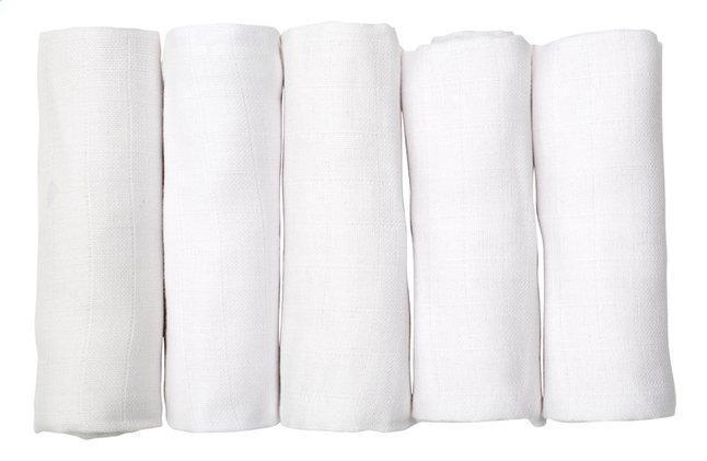 Image pour Dreambee Essuie tetra Essentials blanc - 5 pièces à partir de Dreambaby