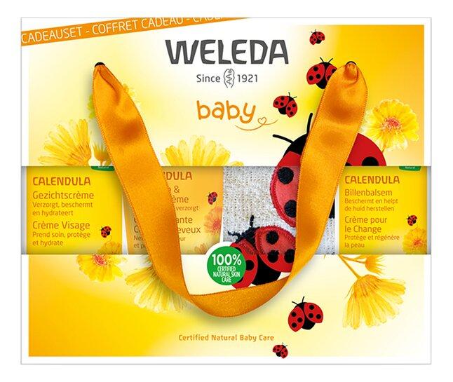 Weleda 4-delige Geschenkset Geboorte Calendula