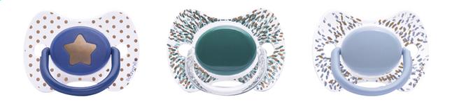 Image pour Suavinex Sucette + 12 mois Haute Couture bleu/vert à partir de Dreambaby