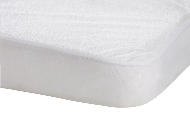 Image pour Baby Care Protège-matelas coton/polyester/polyuréthane (PU) Lg 70 x L 140 cm à partir de Dreambaby