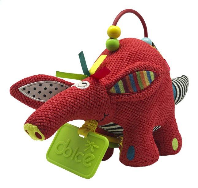 Afbeelding van Dolce Activiteitenknuffel arrdvark 19 cm from Dreambaby