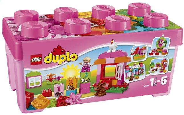 Afbeelding van LEGO DUPLO 10571 Alles in één roze doos from Dreambaby