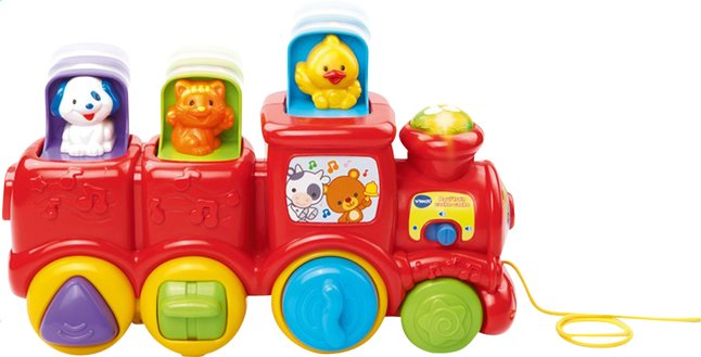 Afbeelding van VTech Roul'train cache-cache FR from Dreambaby