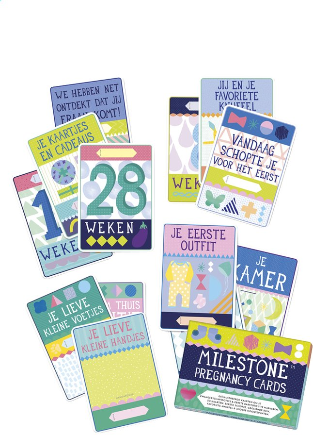 Afbeelding van Milestone Pregnancy Cards from Dreambaby