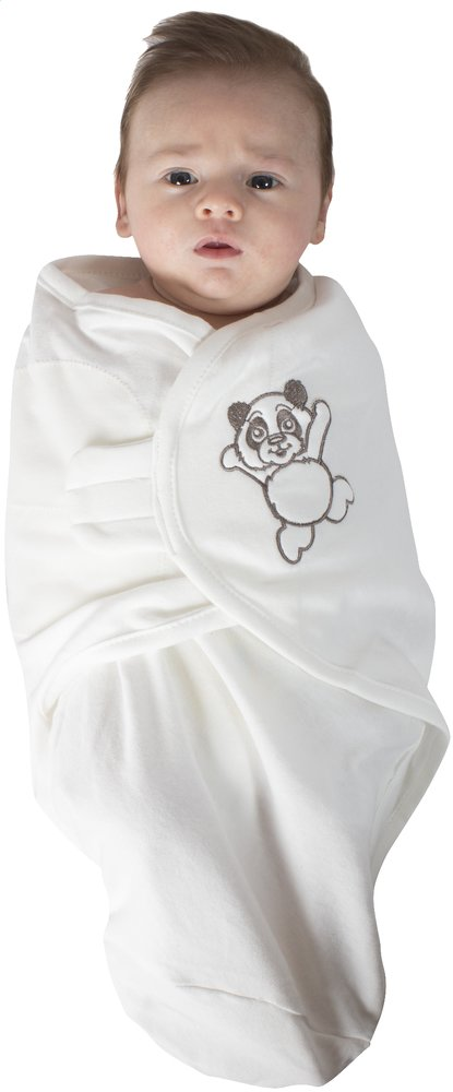Afbeelding van Bo Jungle Inbakerdoek B-Wrap katoen Panda Small from Dreambaby