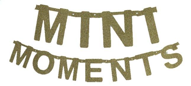 Minimou Letterslinger Mini moments goud glitter