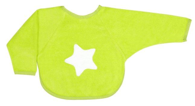 Image pour Dreambee Bavoir à manches Essentials à pression lime à partir de Dreambaby