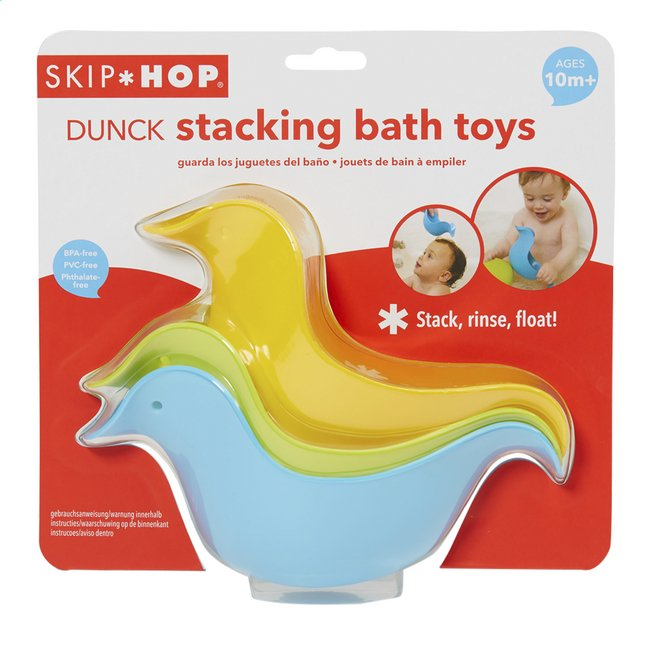 Afbeelding van Skip*Hop Badspeelgoed Dunck Stacking Bath Toys - 3 stuks from Dreambaby