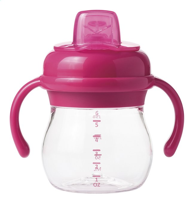 Afbeelding van OXO Tot Oefenbeker met zachte tuit 175 ml pink from Dreambaby