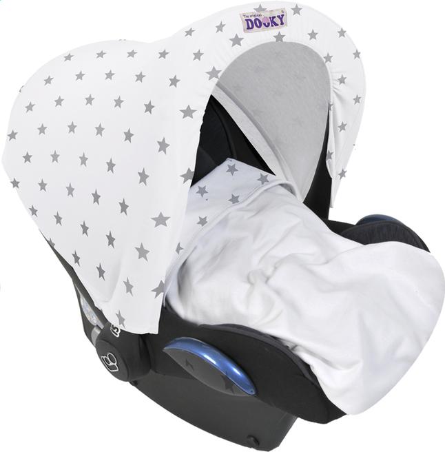 Afbeelding van Dooky Zonnekap voor draagbare autostoel Silver Stars from Dreambaby