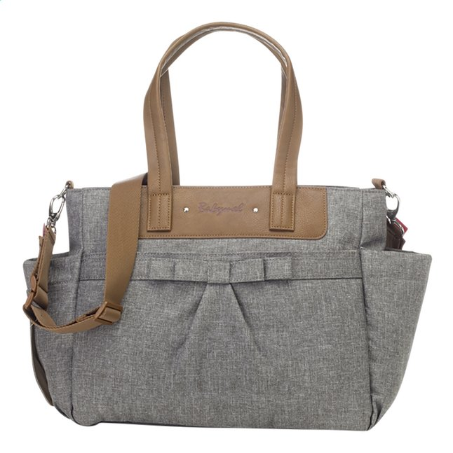 Babymel Verzorgingstas Cara bloom grey