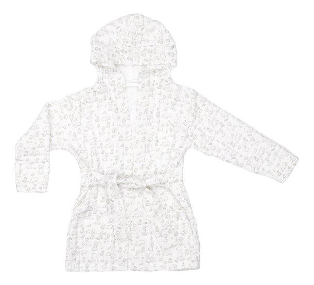 Dreambee Sortie de bain Tobi tetra coton blanc