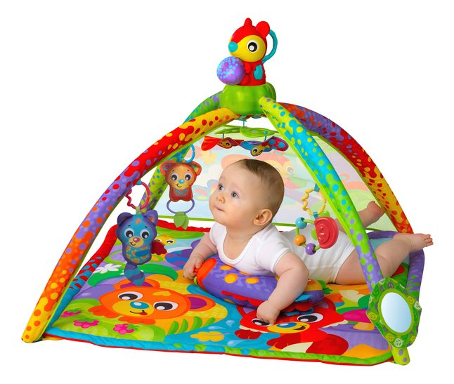 Playgro Speeltapijt Woodlands Music and Lights Projector Gym