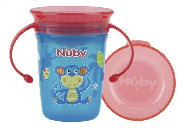 Afbeelding van Nûby Oefenbeker 360° wonder cup 240 ml aap from Dreambaby