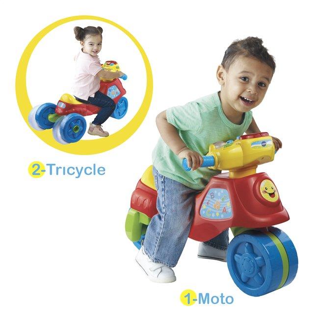 Afbeelding van VTech Cyclo-moto 2 en 1 FR rood from Dreambaby