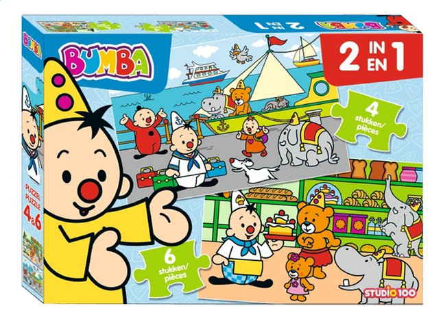 Puzzel Bumba 2-in-1