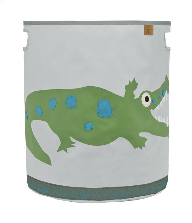 Image pour Lässig Panier de rangement crocodile gris clair à partir de Dreambaby