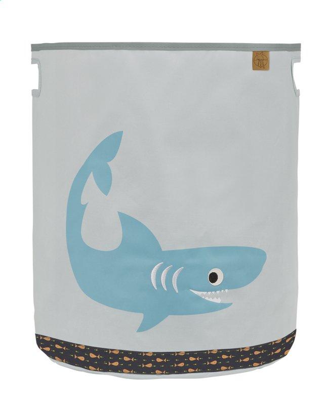Afbeelding van Lässig Opbergmand haai lichtgrijs from Dreambaby