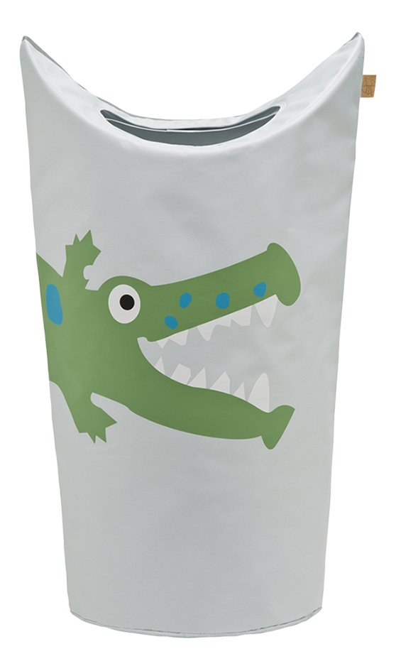 Image pour Lässig Corbeille à linge crocodile gris clair à partir de Dreambaby