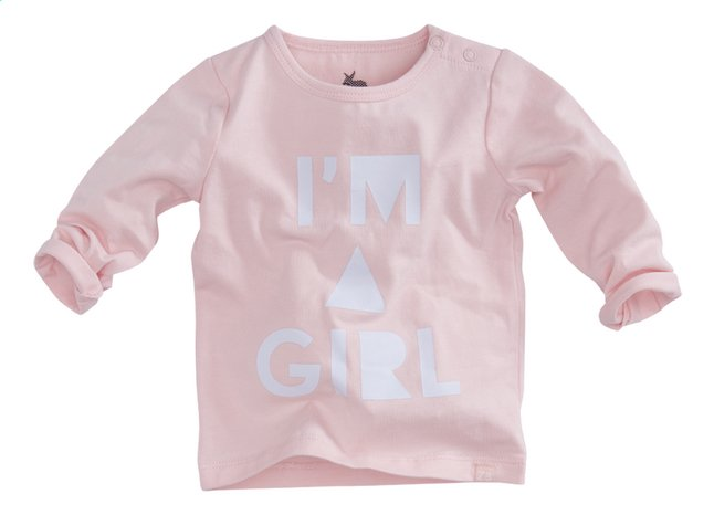 Image pour Z8 T-shirt à longues manches Cranberry soft pink/white taille 56 à partir de Dreambaby
