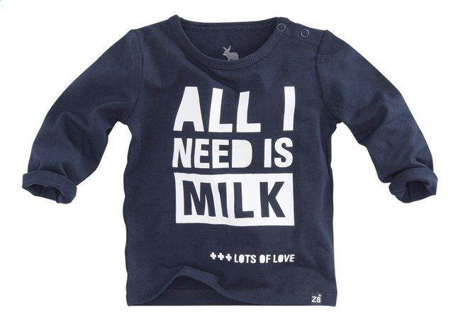 Afbeelding van Z8 T-shirt met lange mouwen Dandelion navy/white from Dreambaby