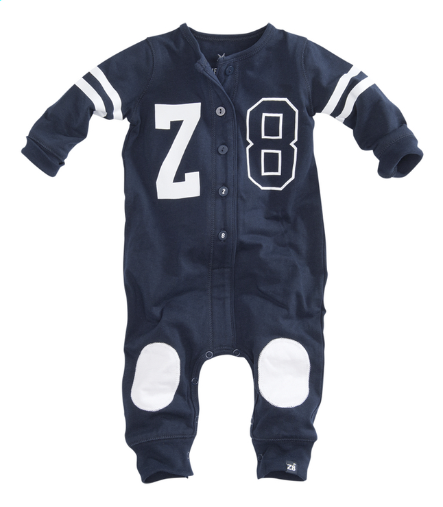 Afbeelding van Z8 Pyjama Evergreen navy/white maat 62 from Dreambaby