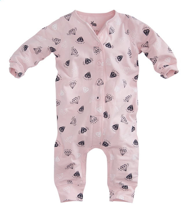 Afbeelding van Z8 Pyjama Rose soft pink/diamants maat 50 from Dreambaby
