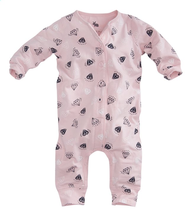 Afbeelding van Z8 Pyjama Rose soft pink/diamants maat 68 from Dreambaby