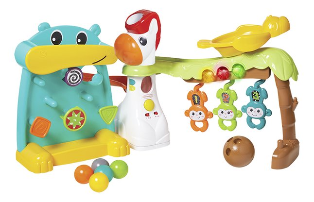Infantino Activiteitenspeeltje Main 4 in 1 Grow with me Playland
