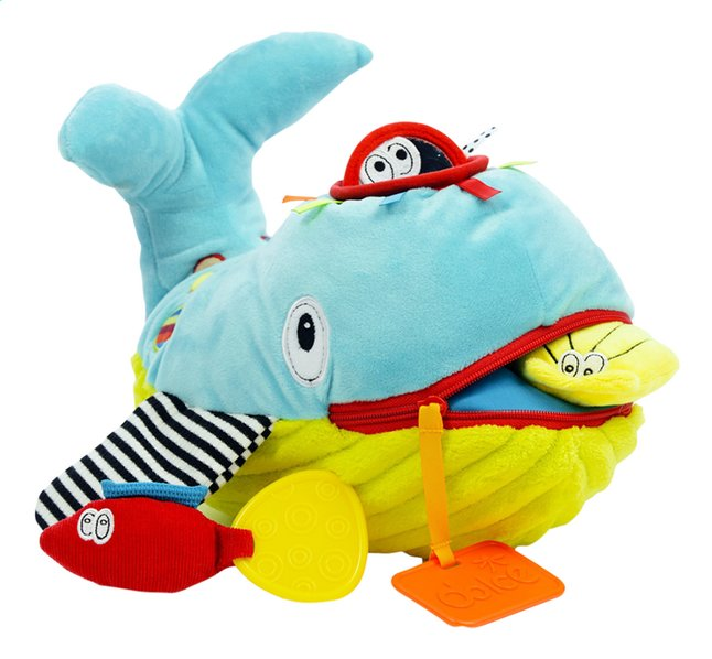 Image pour Dolce Peluche Play and Learn baleine 21 cm à partir de Dreambaby