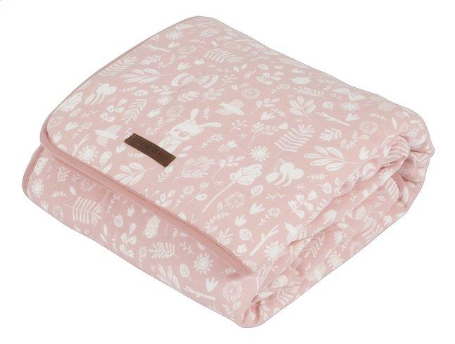 Afbeelding van Little Dutch Deken voor wieg of park Adventure Pink Pure & Soft katoen/teddy from Dreambaby