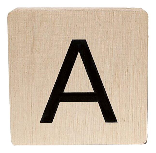 Minimou Lettre en bois A