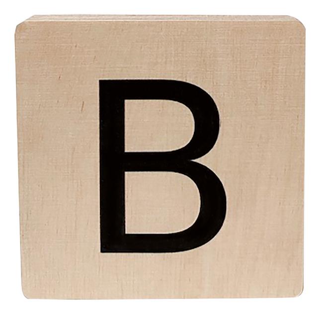 Minimou Lettre en bois B